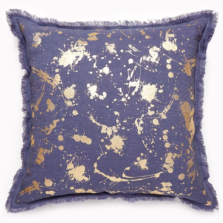 Cushions & Throws - Gilded Drip Cushion