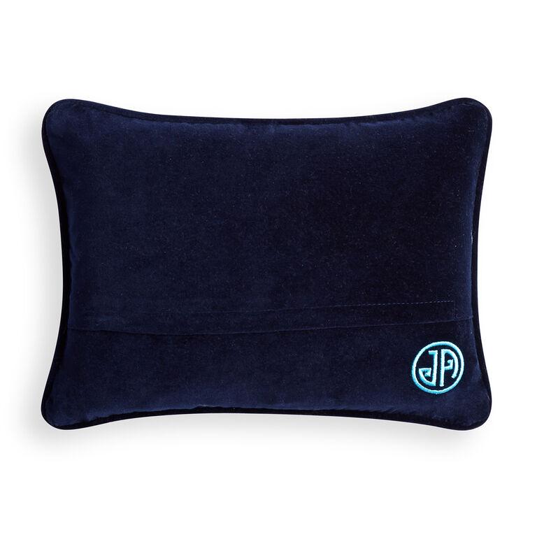 ALL NEW - Honest Banker Needlepoint Pillow
