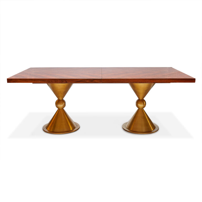 Dining Tables, Chairs & Storage - Caracas Dining Table, Rosewood