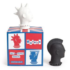 Salt & Pepper Shakers - Mohawk Salt & Pepper Shakers