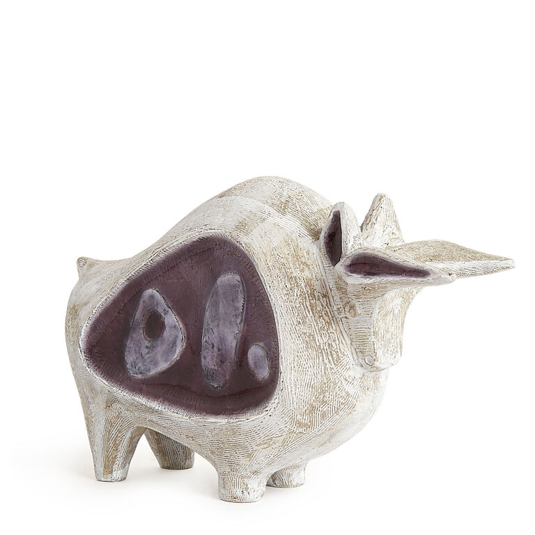 Decorative Objects - Glass Menagerie Bull