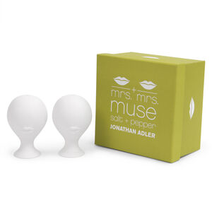 Salt & Pepper Shakers - Mrs. & Mrs. Muse Salt & Pepper Shakers