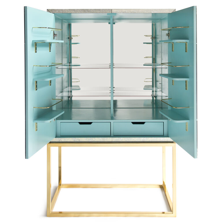 Bars & Bar Carts - Delphine Bar