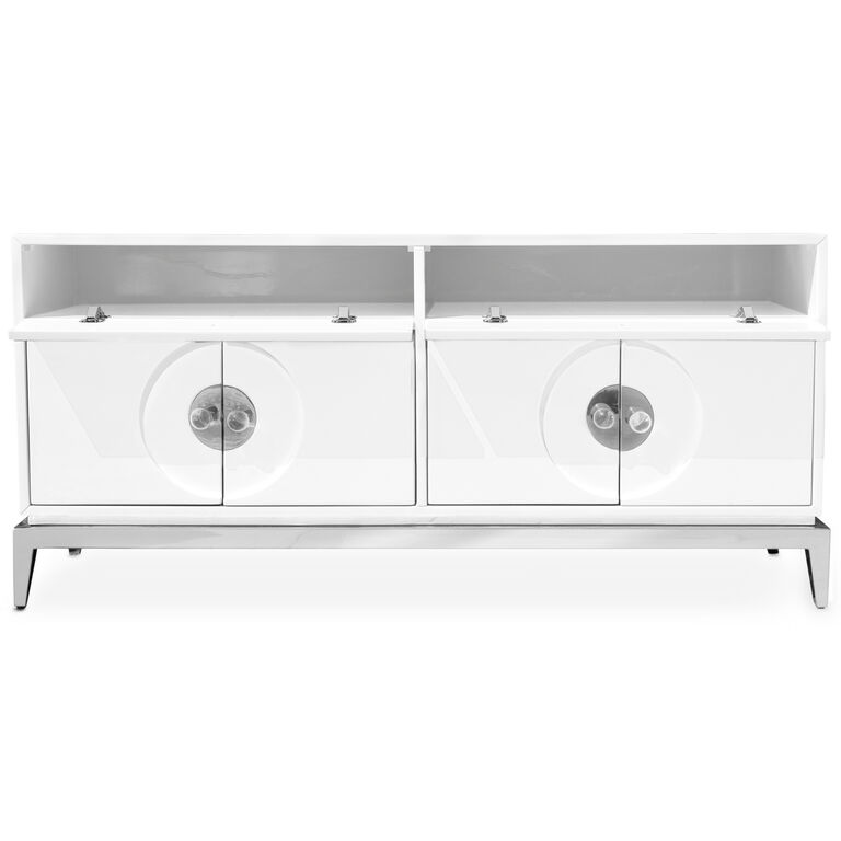 Cocktail, Side & Console Tables - Channing Media Console