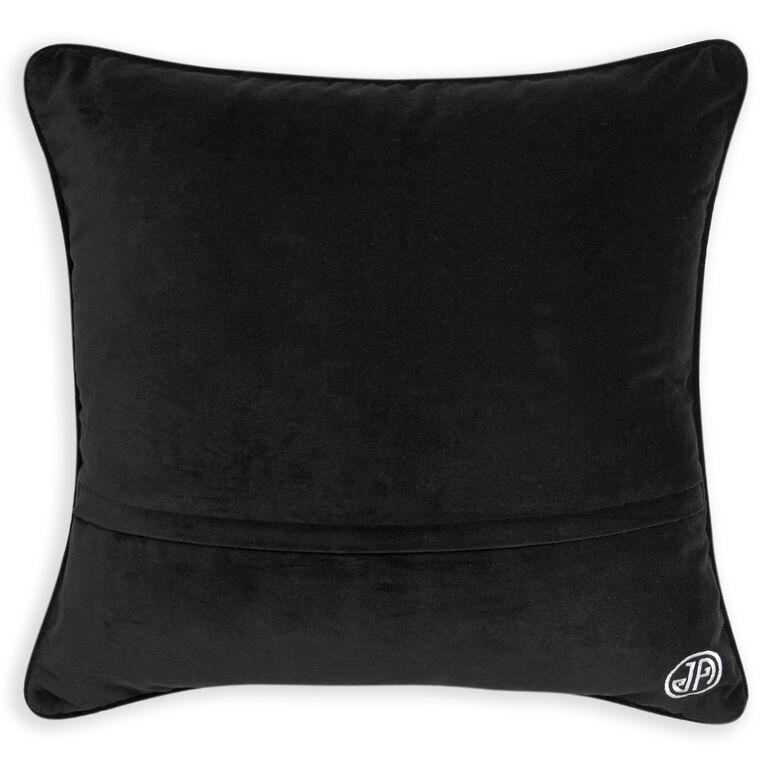 Holding Category - Black and White Waves Bargello Cushion