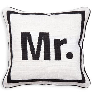 Cushions & Throws - Mr. Needlepoint Cushion