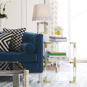 Cocktail, Side & Console Tables - Jacques Two-Tier Side Table