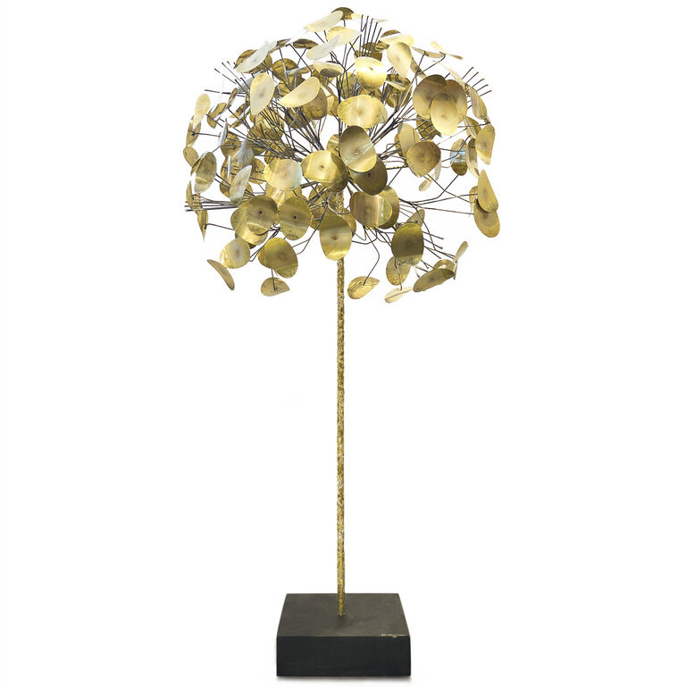 Art - C. Jeré Brass Tree Sculpture