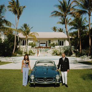 "Art - Slim Aarons ""The Fullers"" Photograph"