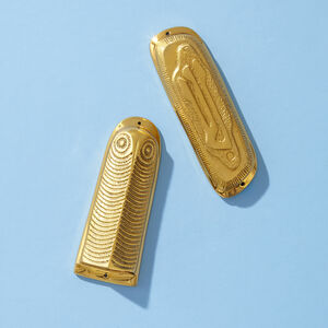 Brass Objects - Owl Mezuzah