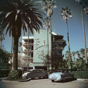 "Art - Slim Aarons ""Beverly Hills Hotel"" Photograph"