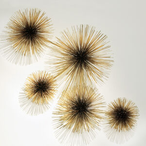 Art - C. Jeré Brass Urchin Sculpture Wall Art