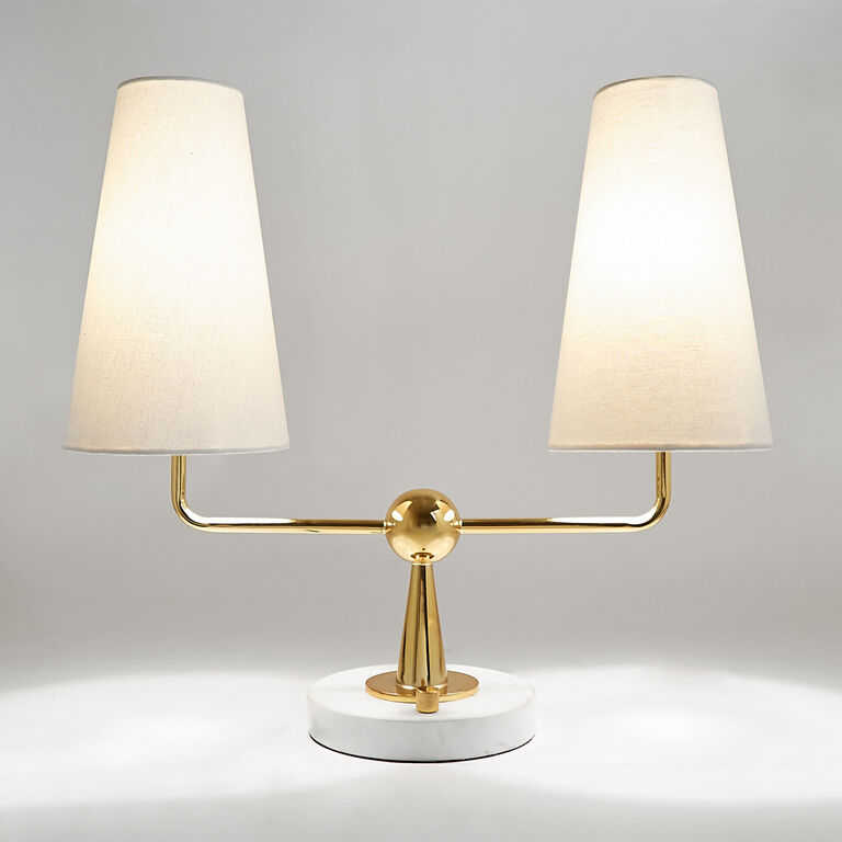 Table Lamps - Caracas 2-Light Table Lamp