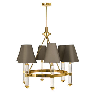 Ceiling Lamps - Jacques 6-Arm Chandelier