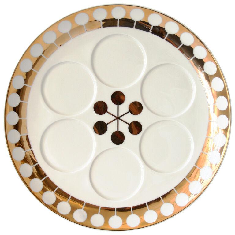 Serveware - Futura Seder Plate
