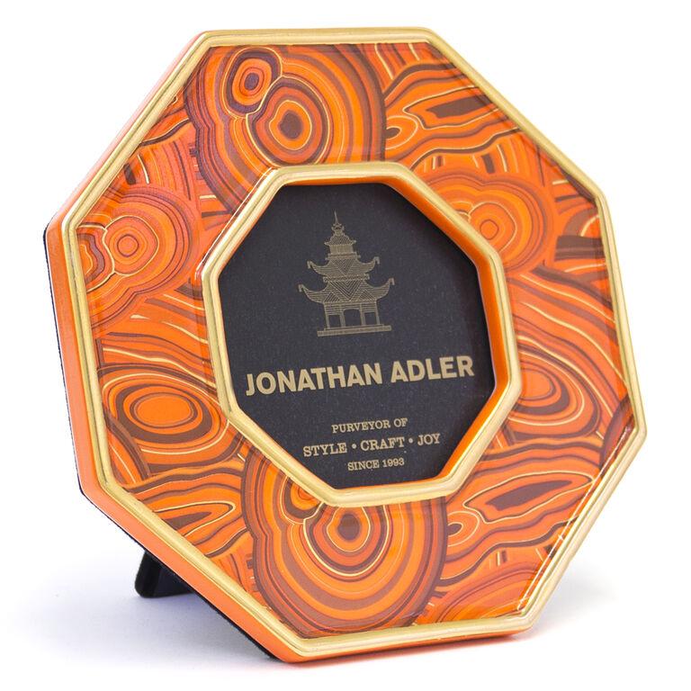 Holding Category - Orange Malachite Frame 3 x 4