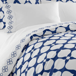 Duvets & Shams - Twin Navy Hollywood Duvet Cover