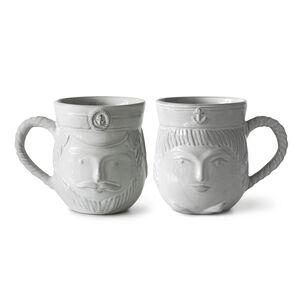 Serveware & Mugs - Utopia Reversible Sailor/Captain Mug