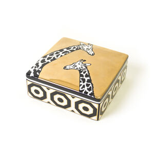 Boxes & Canisters - Animalia Giraffe Decorative Box