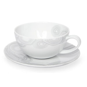 ALL DINING - Malchite Tea Cup and Saucer