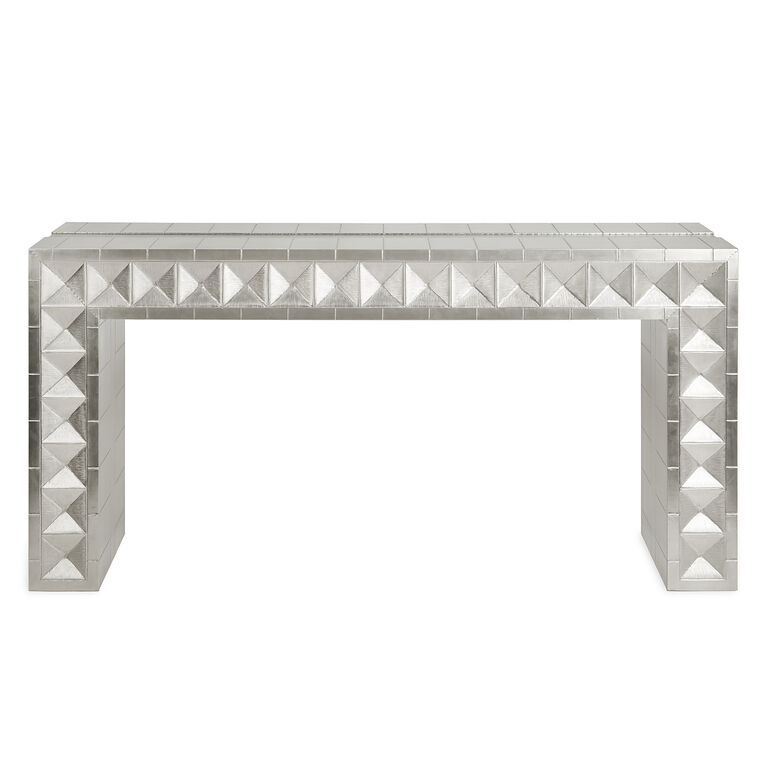 Cocktail, Side & Console Tables - Talitha Waterfall Console