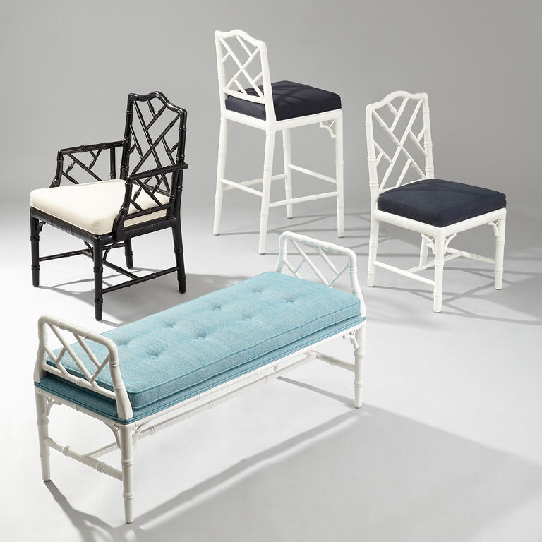 Chairs & Benches - Chippendale Bench