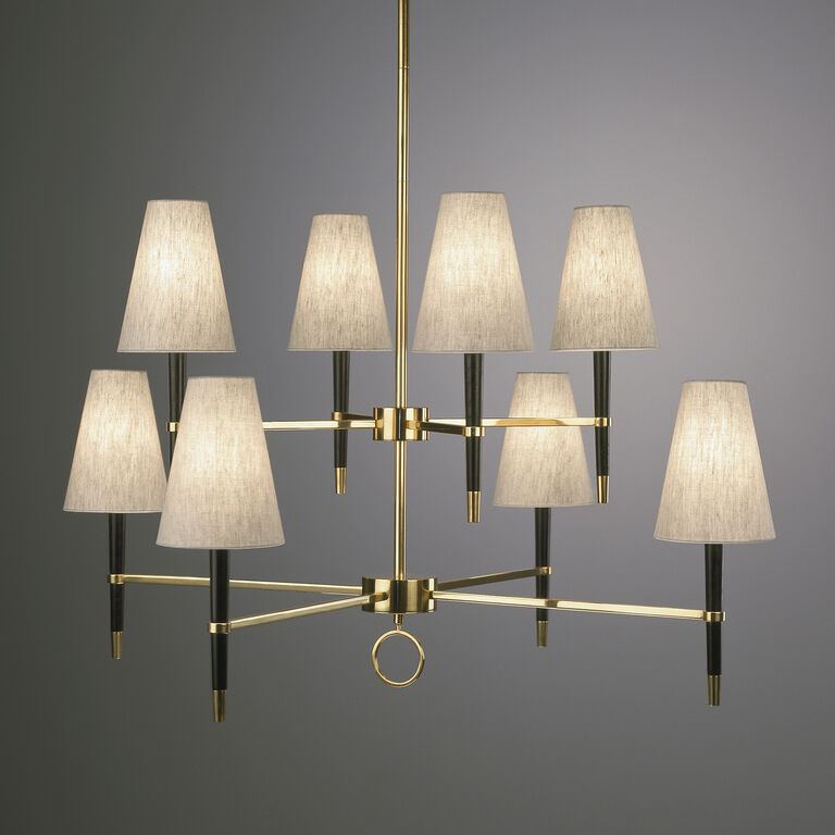 Ceiling Lamps - Ventana Two-Tier Chandelier