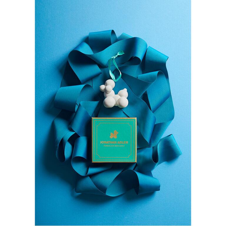 Ornaments - Porcelain Poodle Ornament
