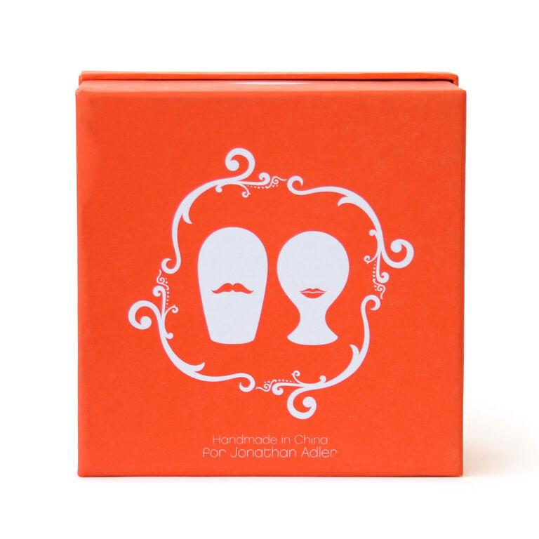 Salt & Pepper Shakers - Mr. & Mrs. Muse Salt & Pepper Shakers