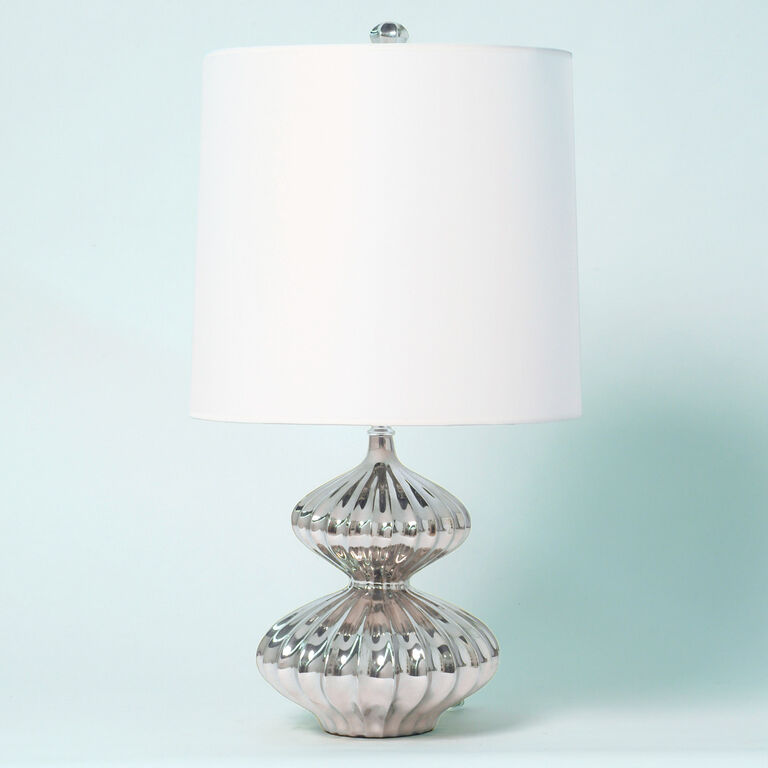Table Lamps - Platinum Nelson Minor Table Lamp