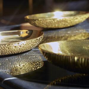 Bowls - Large Brutalist Brass Bowl