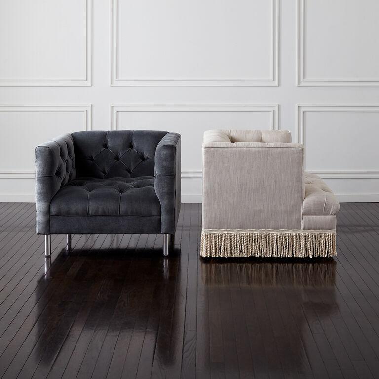 Jonathan Adler   Baxter T-Arm Chair 5