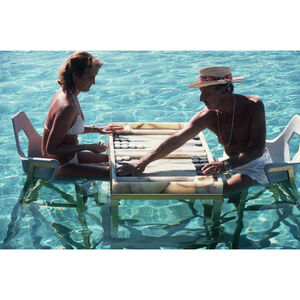"Slim Aarons - Slim Aarons ""Keep Your Cool"" Photograph"