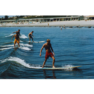 "Slim Aarons - Slim Aarons ""Surfing Brothers"" Photograph"