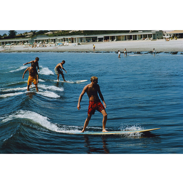 "Slim Aarons - Slim Aarons ""Surfing Brothers"" Photograph"