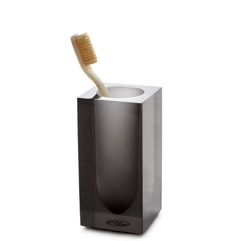 Smoke Hollywood Toothbrush Holder Modern Bed Bath Jonathan Adler
