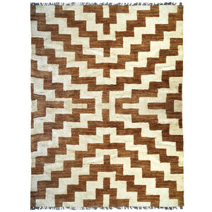 Hand-Knotted - Stepped Bridget Hand-Knotted Rug