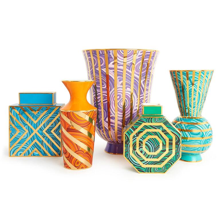 Vases - Malachite Rings Vase