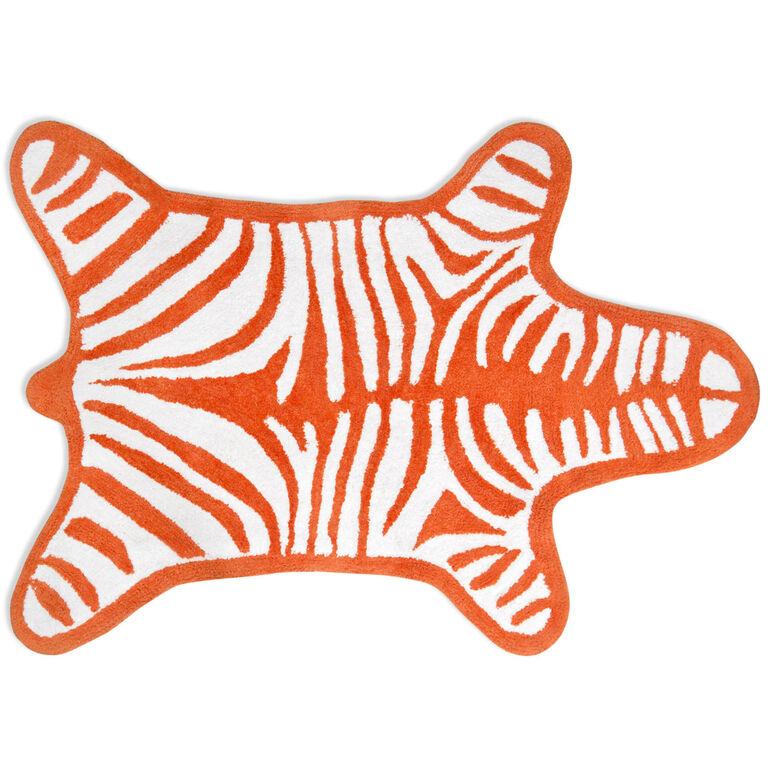 Bath Mats - Reversible Zebra Bathmat
