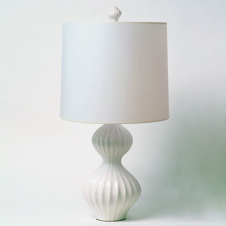 Table Lamps - White Nelson Table Lamp