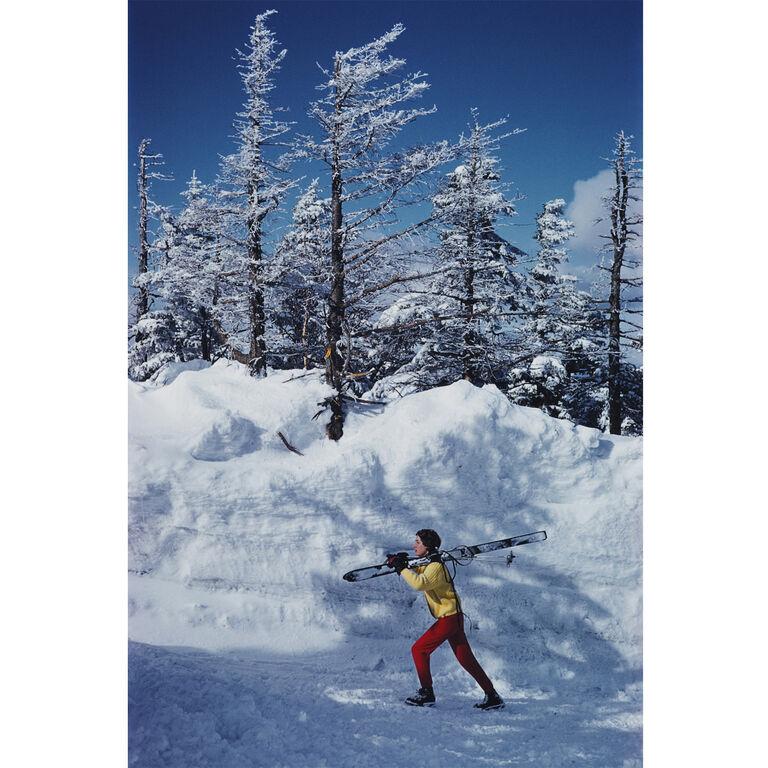 """Slim Aarons - Slim Aarons """"Skier in Vermont"""" Photograph"""