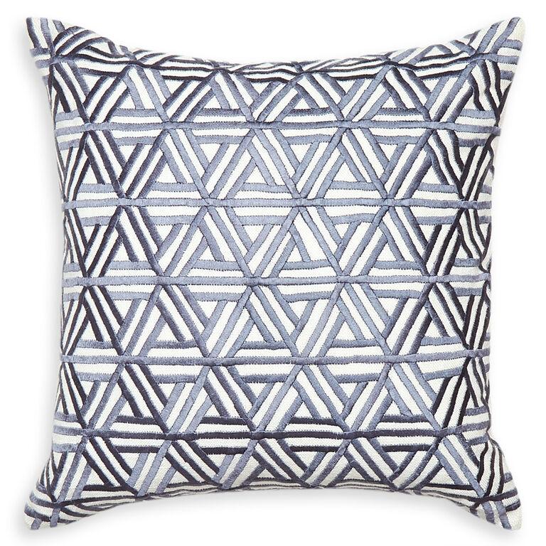 Best Decorative Pillow Websites : Stella Web Gray Throw Pillow 16 x 16 Jonathan AdlerThrow Pillow