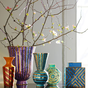 Vases - Malachite Oct Vase