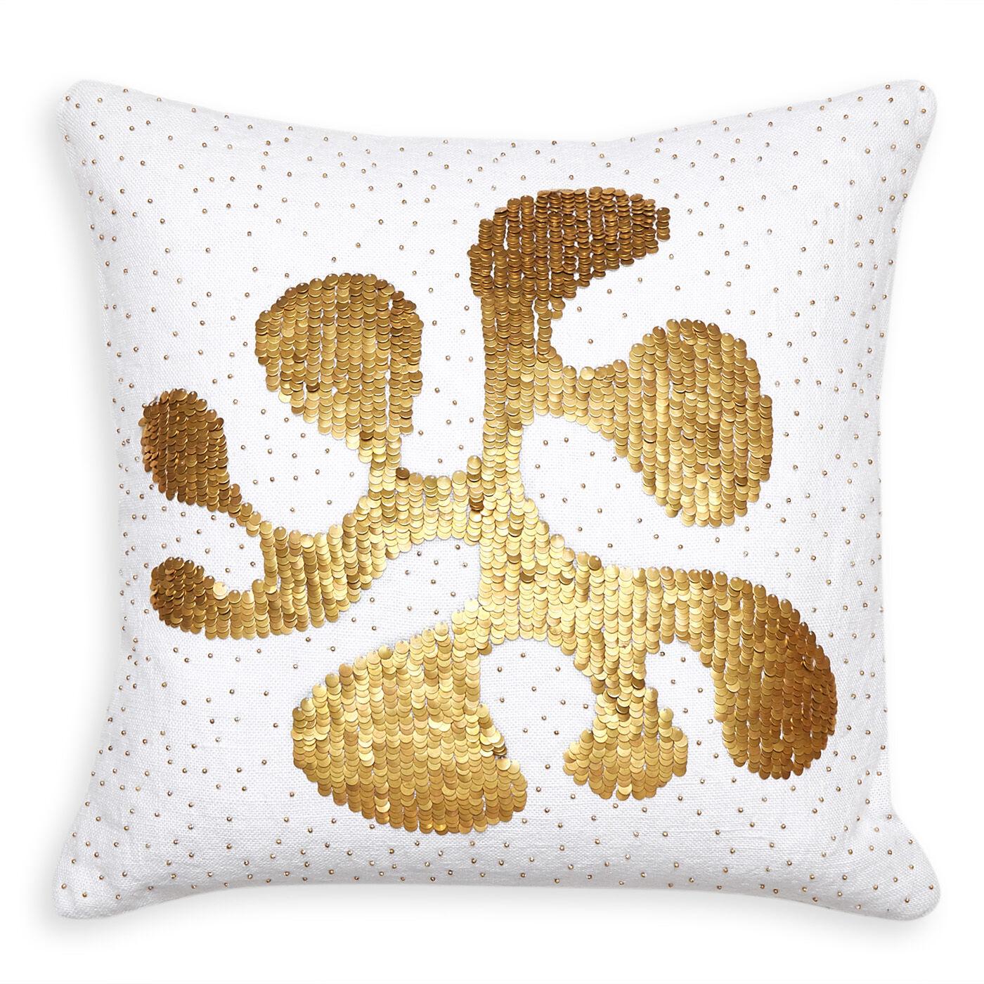 embellished talitha amoeba throw pillow