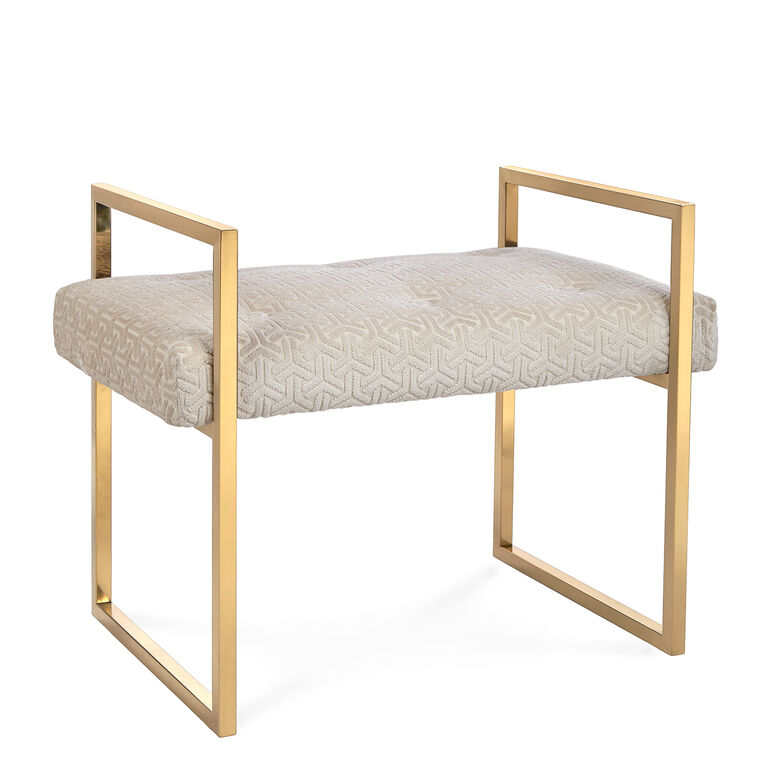 Caine Bench Modern Furniture Jonathan Adler