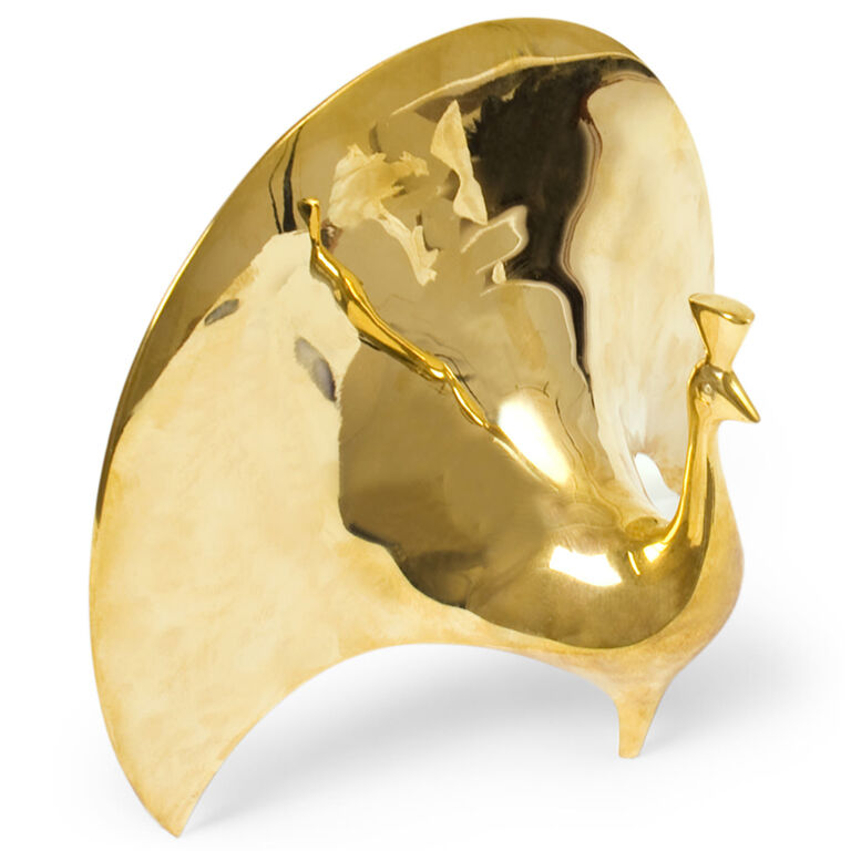 Brass Objets - Brass Peacock