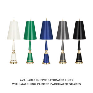 Table Lamps - Versailles Table Lamp with Painted Shade