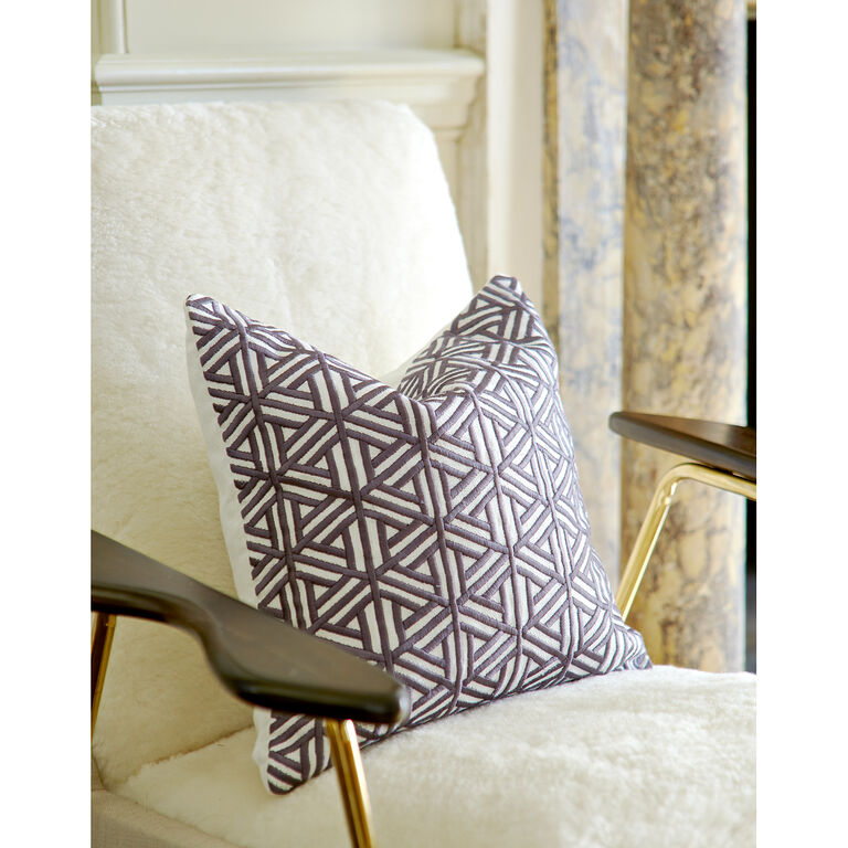Holding Category for Inventory - Stella Maze Throw Pillow