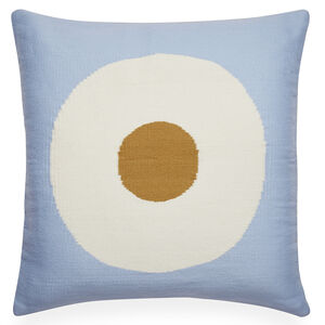 Patterned - Reversible Light Blue Lucky Strike Pop Throw Pillow