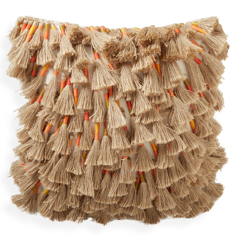 Textured & Embellished - Topanga Tassel Pillow